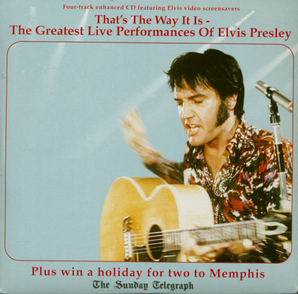 Thats The Way It Is - The Greatest Live Performances Of Elvis Presley (CD)