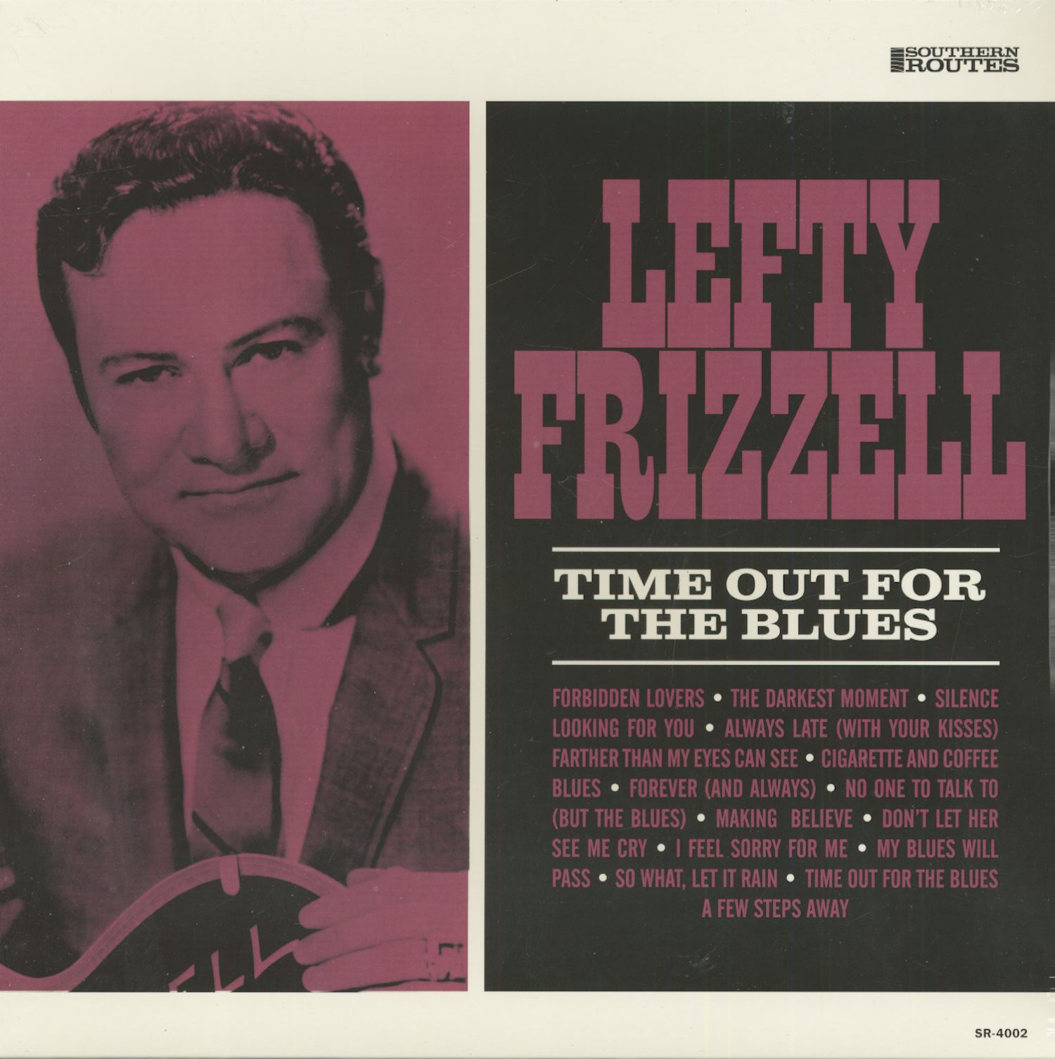 Lefty Frizzell Time Out For The Blues (LP)