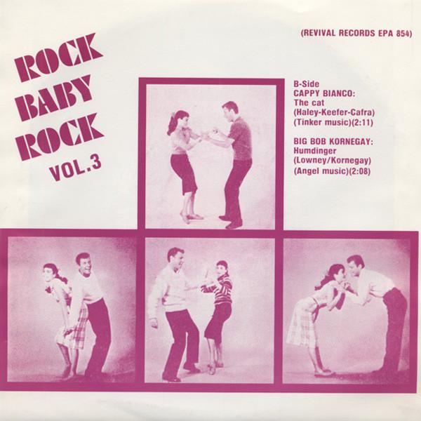 Vol.3, Rock Baby Rock 7inch, 45rpm EP PS