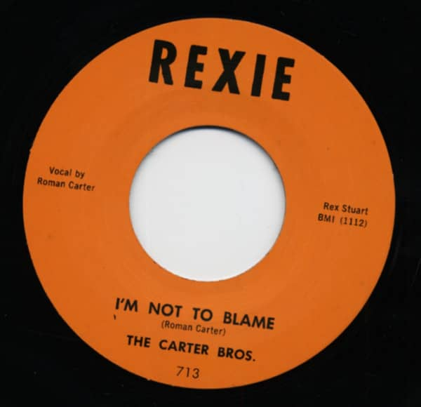 I'm Not To Blame b-w Pacoima Stomp 7inch, 45rpm
