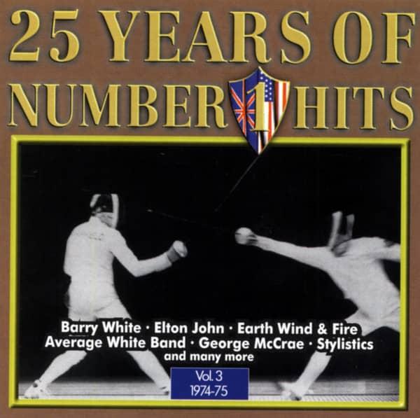 25 Years Of Nr.1 Hits Vol.3 1974-75 (CD)