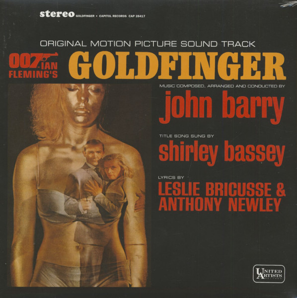 Goldfinger - Soundtrack (LP, 180g Vinyl)