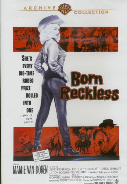 Born Reckless - 1958 (DVD) co-starring Tex Williams and Johnny Olenn