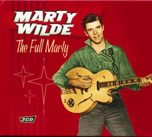 The Full Marty (3-CD) Slipcase Packaging