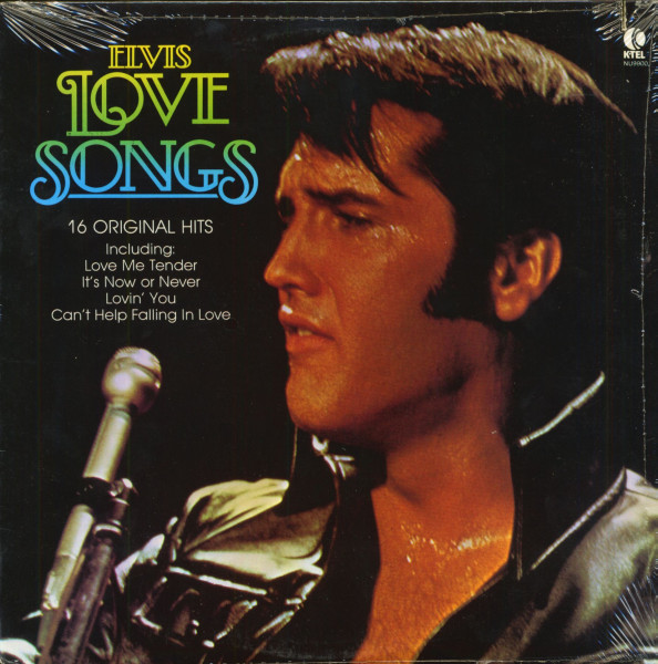 Elvis Love Songs - 16 Original Hits (LP, Cut-Out)