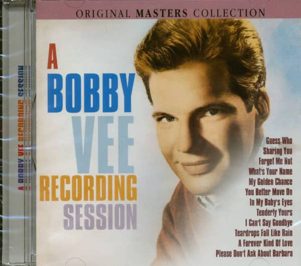 A Bobby Vee Recording Session (CD)