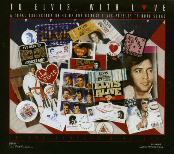 To Elvis With Love - Tributes (2-CD)