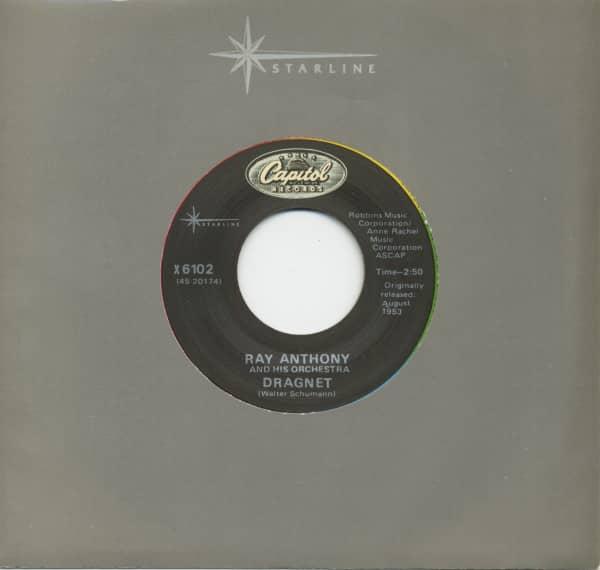 Dragnet - Peter Gunn Theme (7inch, 45rpm)