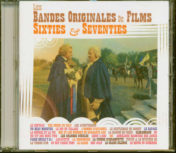 Les Bandes Originales De Films Sixties & Seventies (CD)