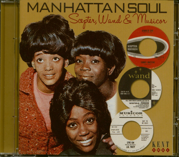 Manhattan Soul - Scepter, Wand & Musicor (CD)