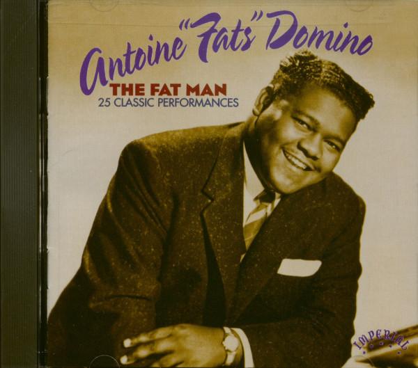 The Fat Man - 25 Classic Performances (CD)