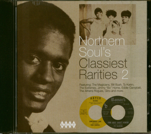 Northern Soul's Classiest Rarities Vol.2 (CD)