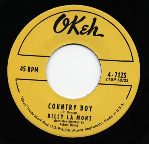 Country Boy b-w Can't Make It By Myself 7inch, 45rpm