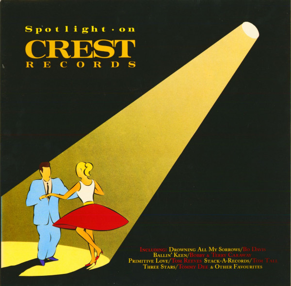 Spotlight On Crest Records (LP)