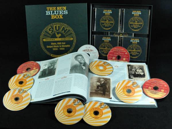 Sun Blues Box 1950-1958 (10-CD Box)