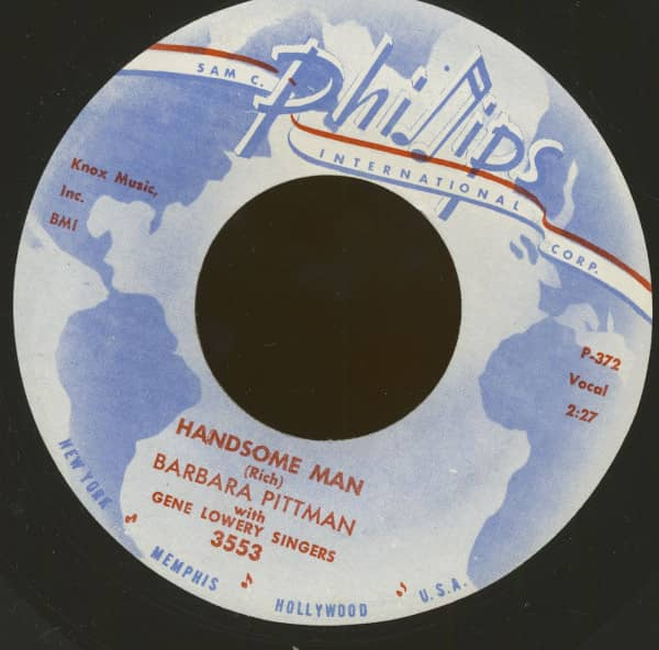 Handsome Man - The Eleventh Commandment (7inch, 45rpm)