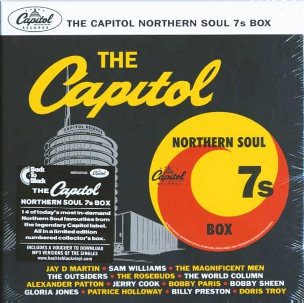 The Capitol Northern Soul 7s Box (7x45rpm Box Set, 7inch, SC)
