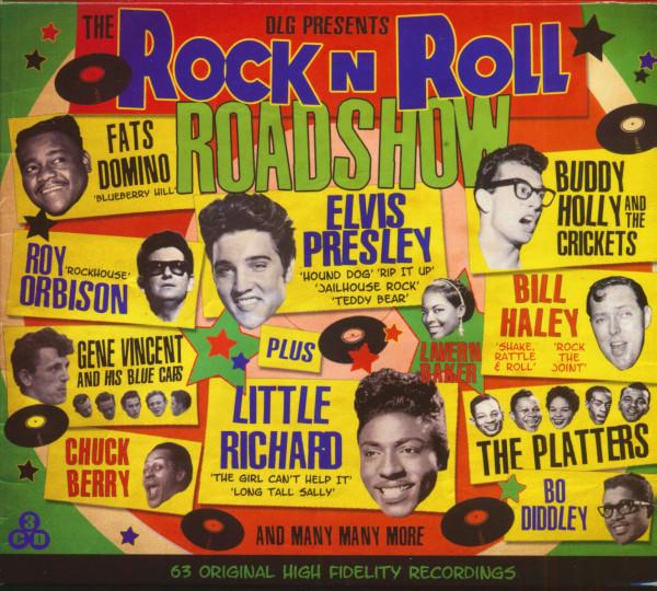 The Rock'n'Roll Roadshow (3-CD)