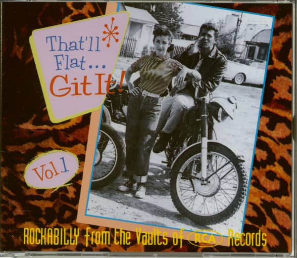 Vol.1 - Rockabilly From The Vaults Of RCA Records (CD)