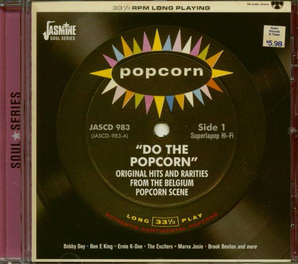 Do The Popcorn - Original Hits and Rarities from Belgium's Popcorn Scene (CD)