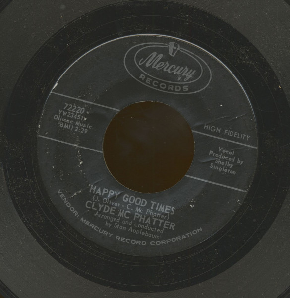 Deep In The Heart Of Harlem - Happy Good Times (7inch, 45rpm)