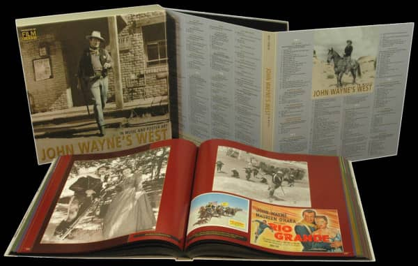 John Wayne's West - In Music And Poster Art (10-CD & 1-DVD Deluxe Box Set)