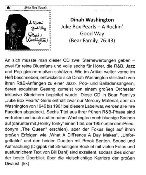 Press-Archive-Dinah-Washington-A-Rockin-Good-Way-Juke-Box-Pearls-Blues-News