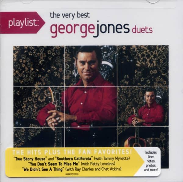 Playlist: The Very Best George Jones Duets
