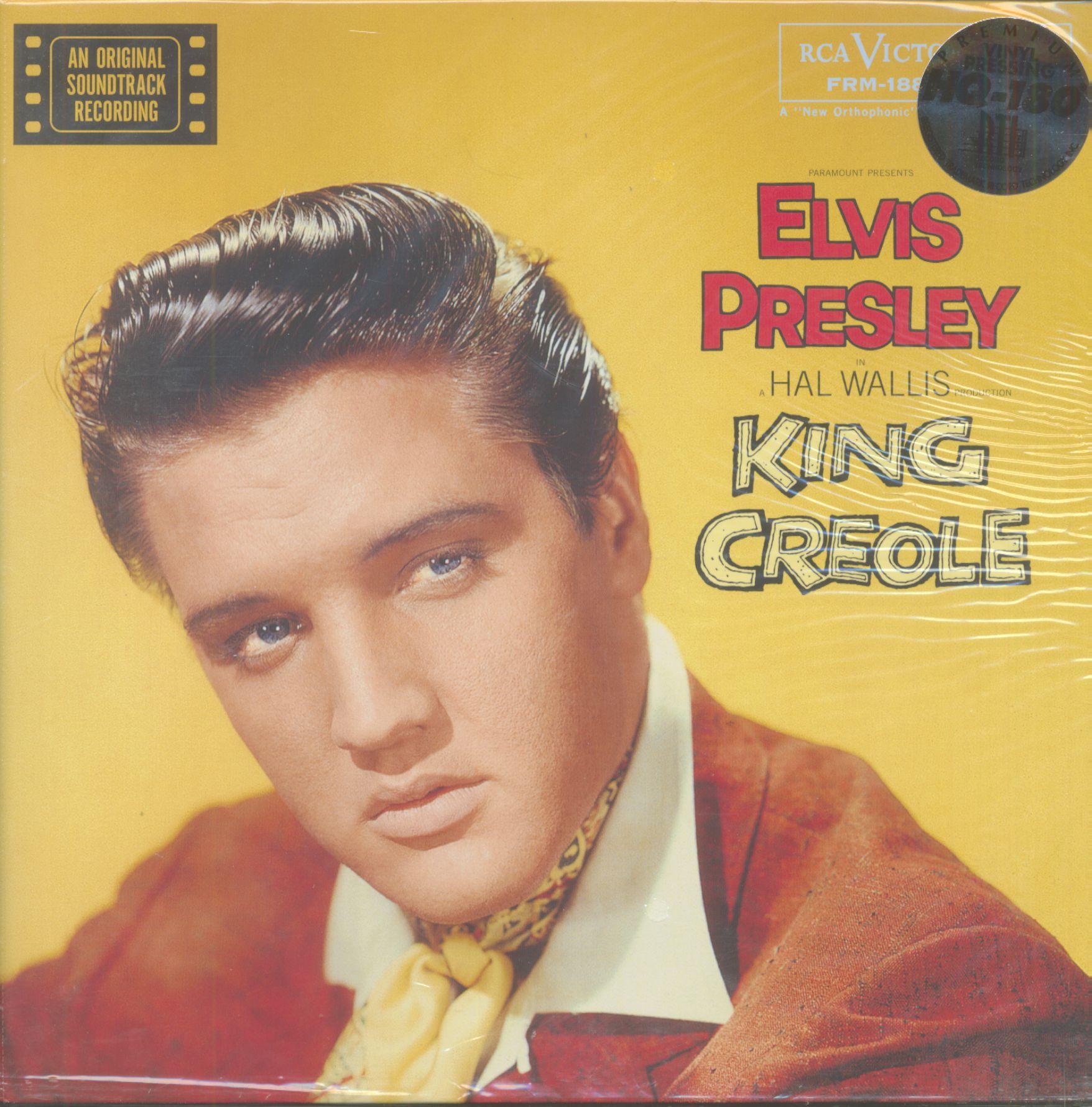 6d83de3067e Elvis Presley LP  King Creole - An Original Soundtrack Recording (LP ...