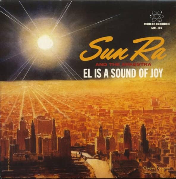 El Is A Sound Of Joy - Black Sky And Blue Moon (45rpm Single, PS, BC, Blue Vinyl)