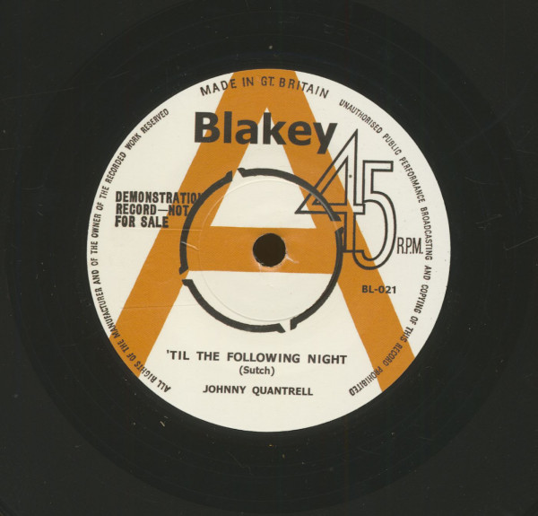 Til The Following Night - When You Gonna Say (7inch, 45rpm, sc)