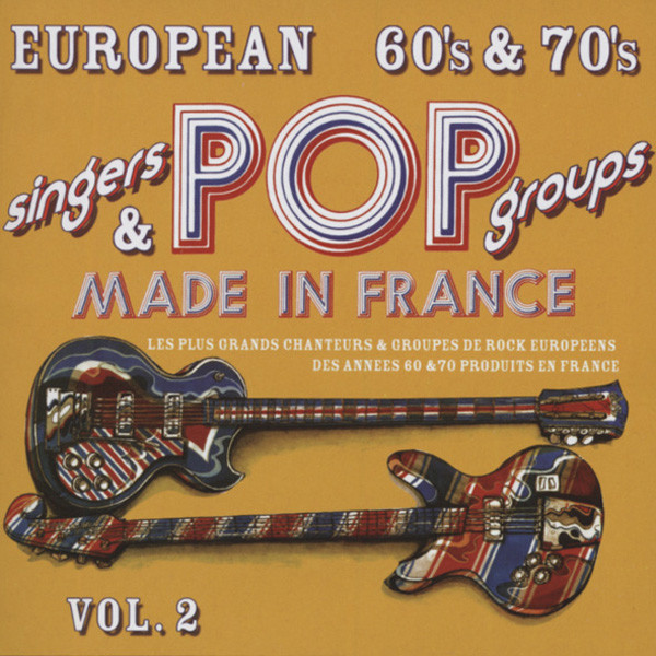 Vol.2, European 60s & 70s Made In France