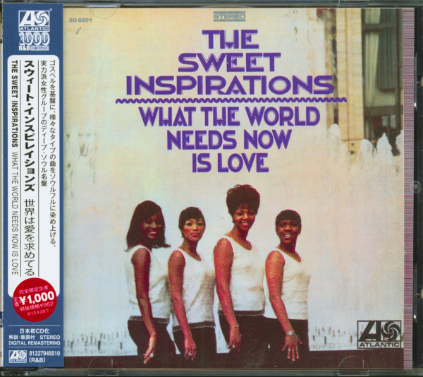 What The World Needs Now Is Love (CD)
