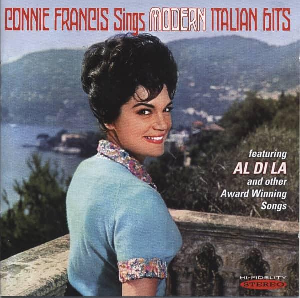 Connie Francis Sings Modern Italian Hits (CD)