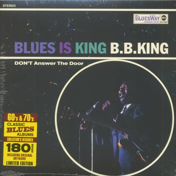 Blues Is King (LP, 180g Vinyl, Ltd.)