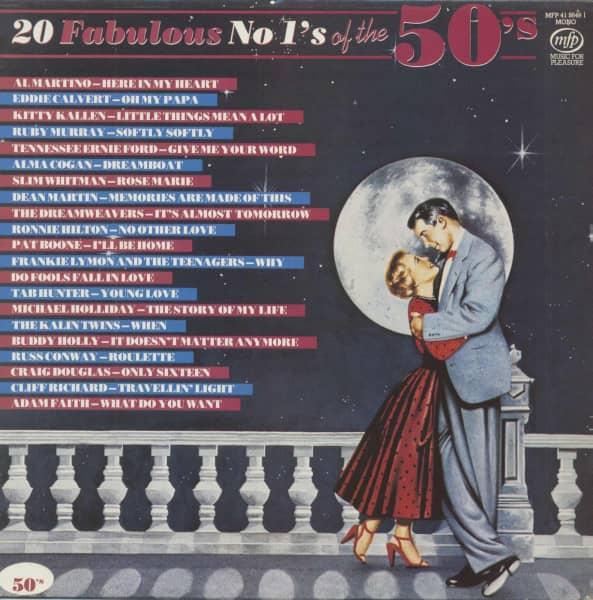 20 Fabulous No 1's Of The 50's (LP)