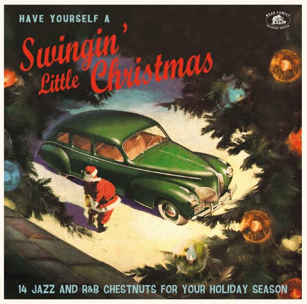 Have Yourself A Swingin' Little Christmas (LP,Green Vinyl)