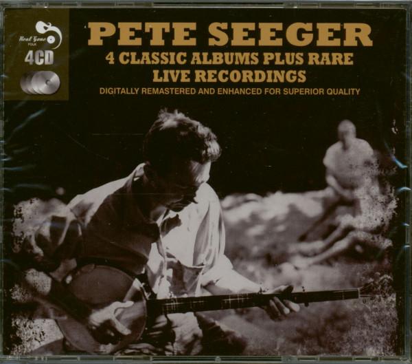 4 Classic Albums Plus Rare Live Recordings (4-CD)