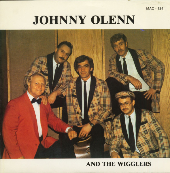 Johnny Olenn And The Wigglers (7inch, 45rpm, PS)