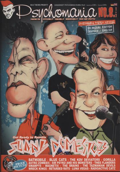 Psychomania (Deutsch - English) - Fanzine für Psych - Punk - Rockabilly #8,5