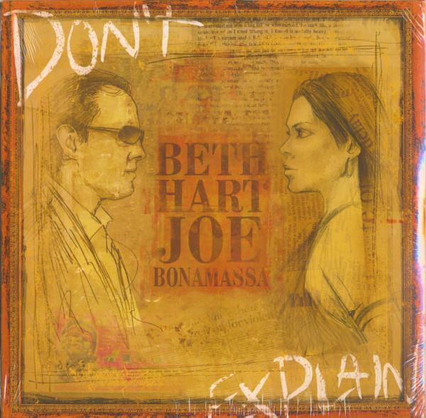 445ab6c0 Beth Hart & Joe Bonamassa LP: Don't Explain - Bear Family Records