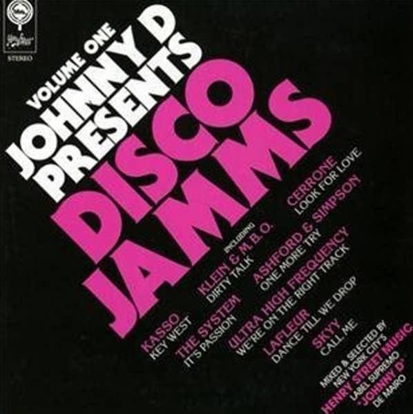 Johnny D Presents Disco Jams (2-LP)