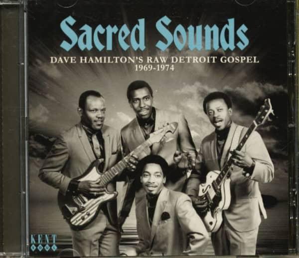 Scared Sounds - Dave Hamilton's Raw Detroit Gospel 1969-1974 (CD)