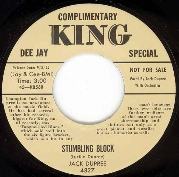 Stumbling Block - That's My Pa 7inch, 45rpm