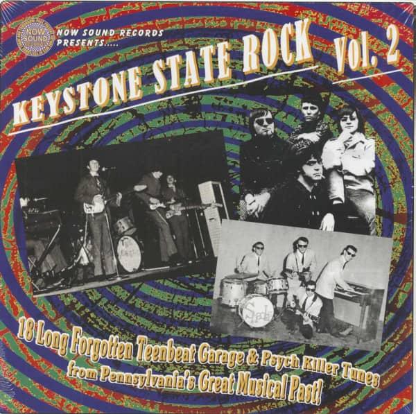 Keystone State Rock Vol.2 (LP)