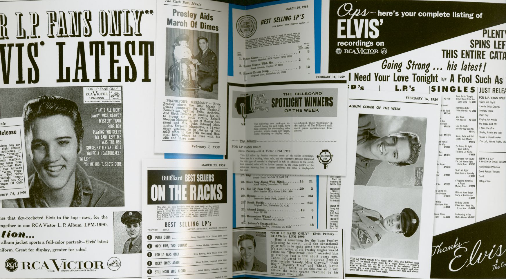 Elvis Presley For LP Fans Only (2-CD) 7inch Deluxe Edition