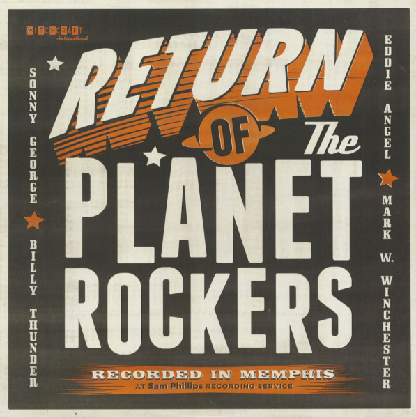 Return Of The Planet Rockers (LP)