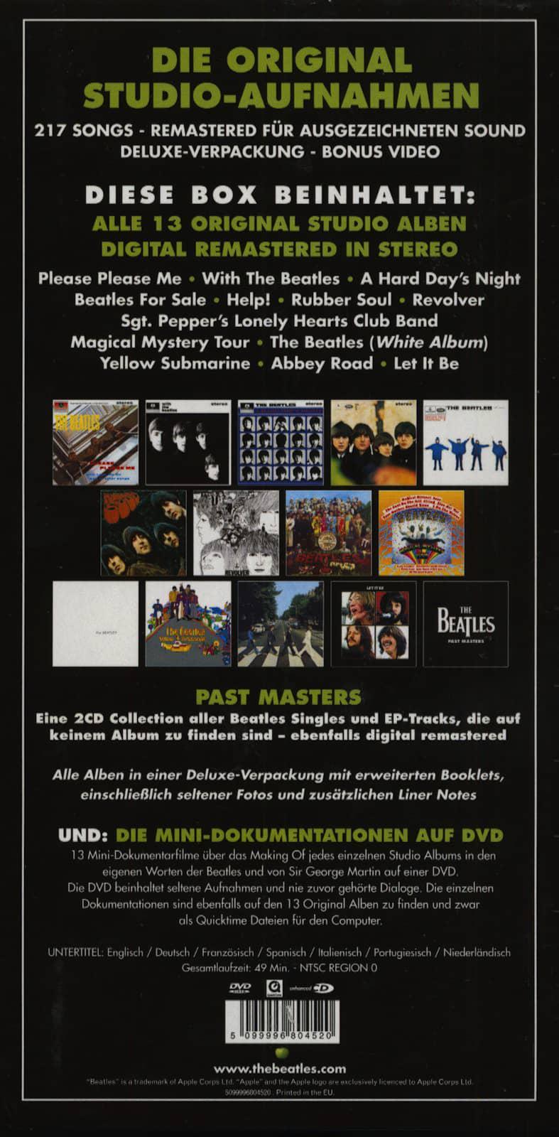 The Beatles CD: The Beatles - Stereo Box - Original Studio
