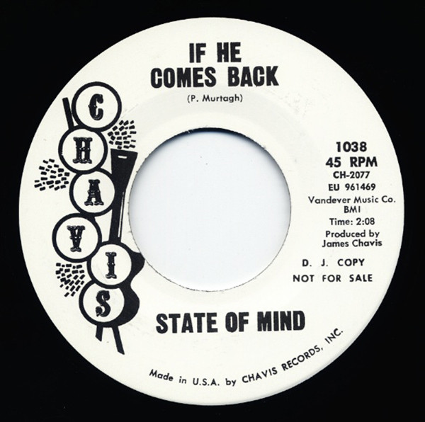 Move - If He Comes Back 7inch, 45rpm