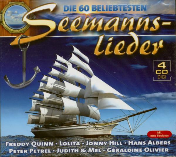 60 Beliebtesten Seemannslieder (4-CD)